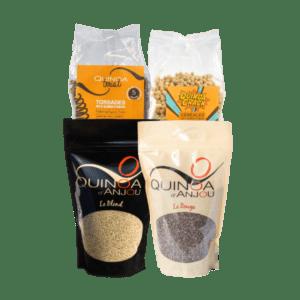 Pack déguqtation quinoa d'anjou