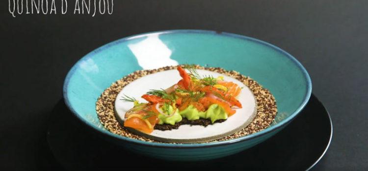 Recette top chef quinoa d'anjou blond et rouge